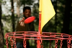Christian Camp Activities - Frisbee Golf
