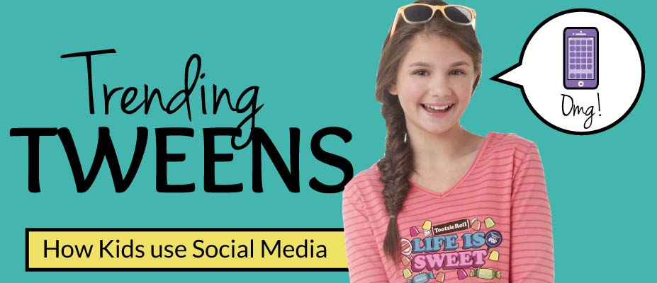 Trending Tweens: How Kids Use Social Media