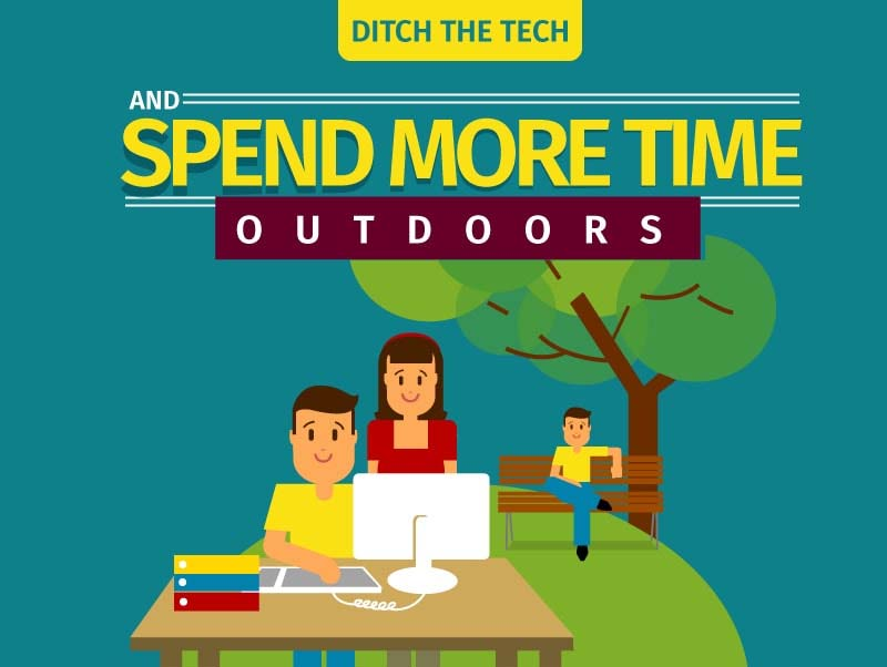 Ditch the Tech: Spend More Time Outdoors