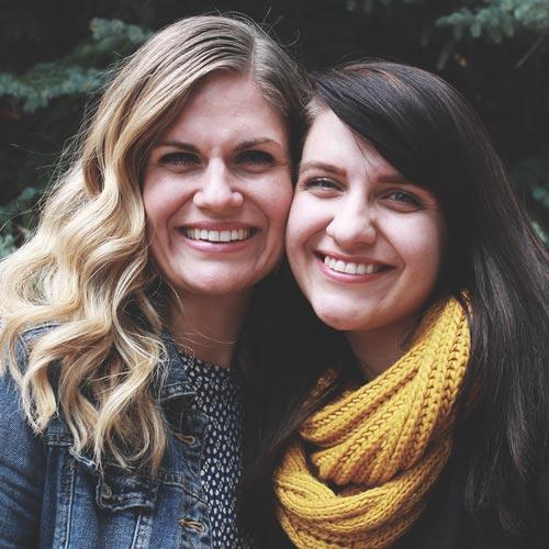 Martha Irvine & Sarah Niño