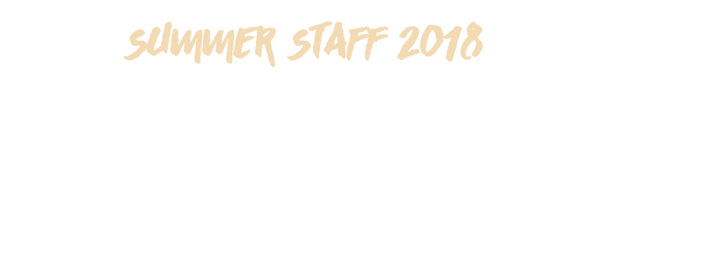 2018 Returning Summer Staff Application