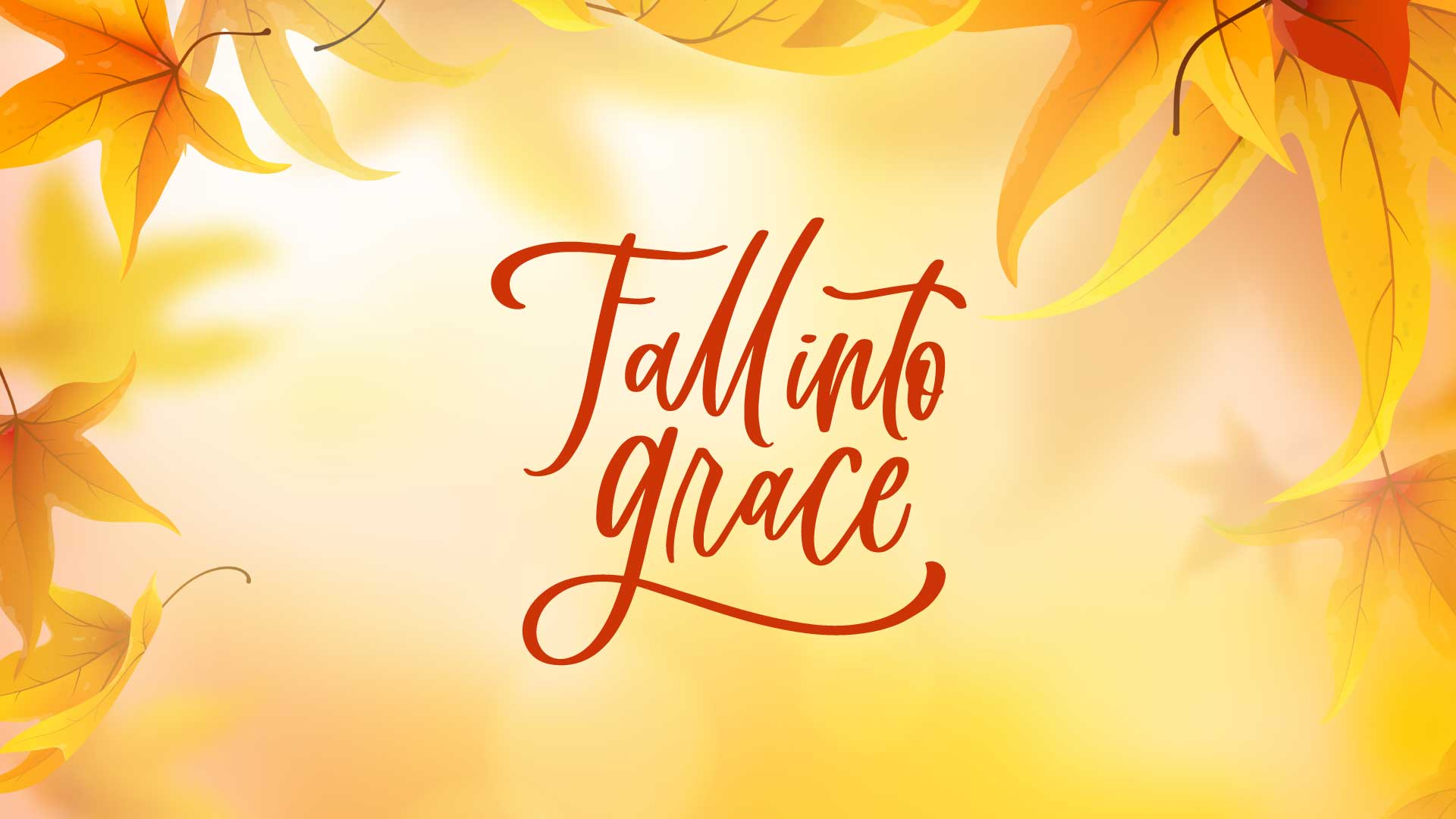 Fall Into Grace Christian Womens Retreat