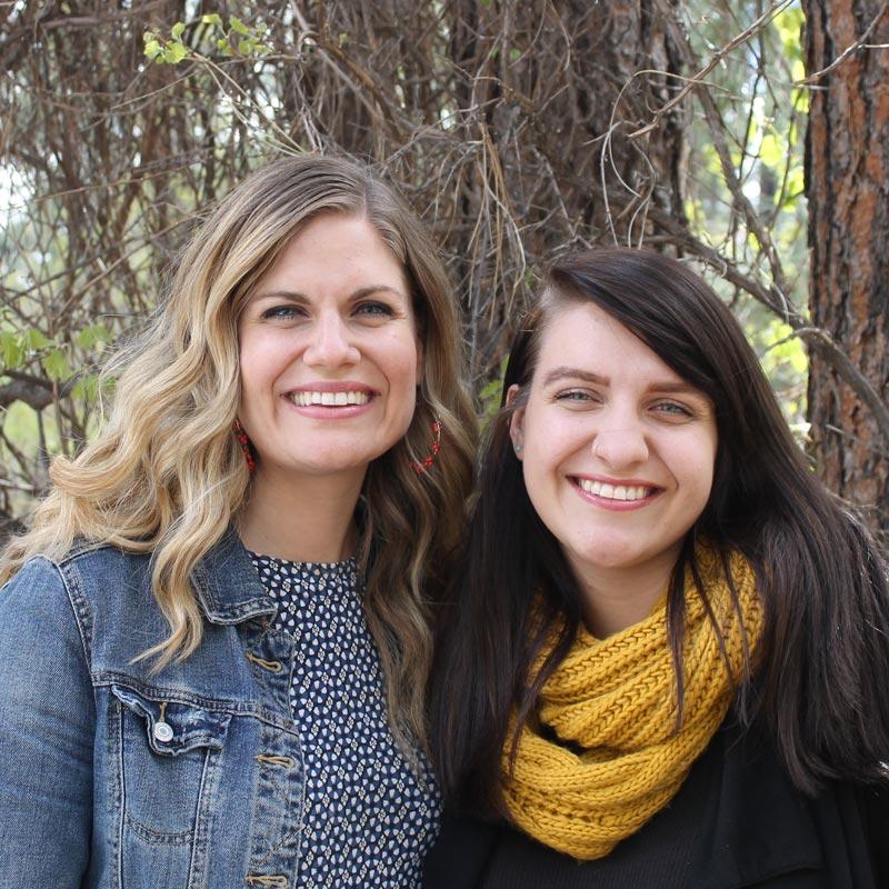 Martha Irvine & Sarah Nino
